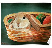 April Bunny Poster