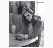 Emma Watson Milkshake B/W by ratest