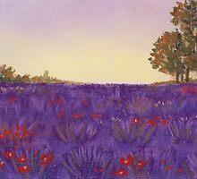 Lavender Evening by Anastasiya Malakhova
