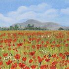 Poppies in Provence  by Anastasiya Malakhova