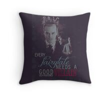 Every fairytale needs a good old, old-fashioned villain. Throw Pillow