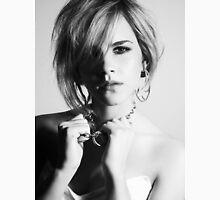 Emma Watson Face B/W Unisex T-Shirt