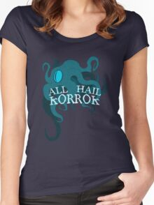 ALL HAIL Women's Fitted Scoop T-Shirt