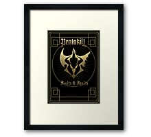 Pentakill - Smite&Ignite Framed Print