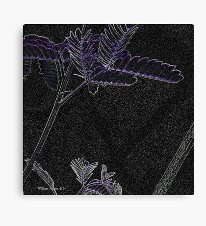 The lonely Leaf Canvas Print