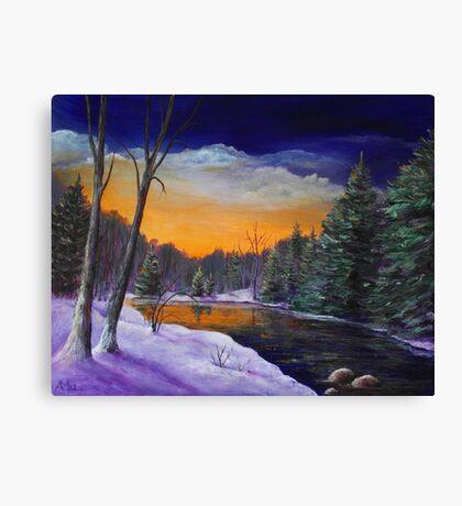 Evening Reflection Canvas Print