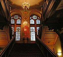 Georgetown's Healy Hall by Cora Wandel
