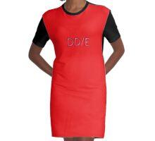DD/E-Bra Graphic T-Shirt Dress