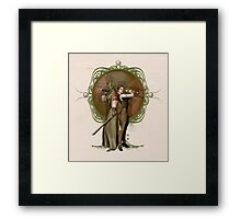 Madama Vastra and Jenny Flint Framed Print