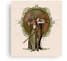 Madama Vastra and Jenny Flint Canvas Print