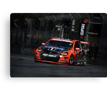 Clipsal - Garth Tander 2 Canvas Print