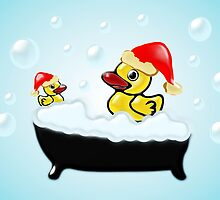 Christmas Ducks by Anastasiya Malakhova