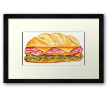 sandwich Framed Print