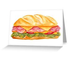 sandwich Greeting Card