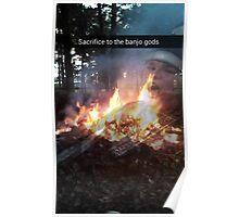 Banjo Gods Hype Poster Poster