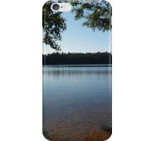 Lake view in Northern Ingria iPhone Case/Skin