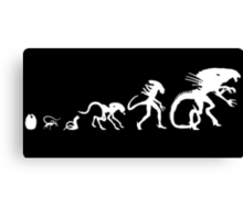Alien Evolution Canvas Print