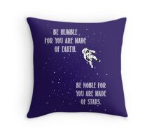 Floating Astronaut Throw Pillow