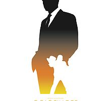 James Bond 007 Goldfinger Minimalist by dylanwest2010