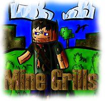 Minecraft Bear Grylls by quikdraw