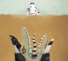 Beetlejuice Sand Worm Jaws Parody by dylanwest2010