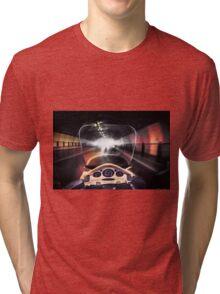 Speeding through the tunnel Tri-blend T-Shirt