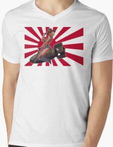 Tally-ho! Japanese Mens V-Neck T-Shirt