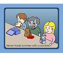 Zombie Lunch Photographic Print