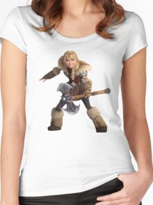 How to Train Your Dragon 10 Women's Fitted Scoop T-Shirt