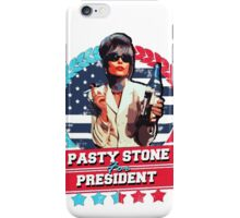 pasty for president iPhone Case/Skin