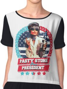 pasty for president Chiffon Top