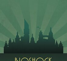 Bioshock There Is Always A City by dylanwest2010