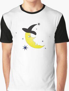 Halloween Crescent Graphic T-Shirt