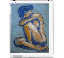 Blue Soul - Female Nude iPad Case/Skin