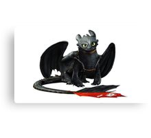 How to Train Your Dragon 12 Canvas Print