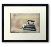 Ironing Day Framed Print