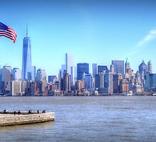 Lower Manhattan by Mark Thompson