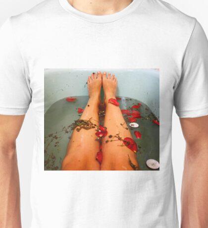 Flower bath Unisex T-Shirt