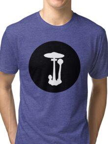 Parasol mushroom Tri-blend T-Shirt