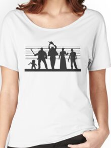 The Usual (Horror) Suspects Women's Relaxed Fit T-Shirt
