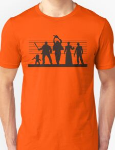 The Usual (Horror) Suspects Unisex T-Shirt