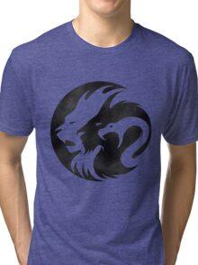 Black & White Lion Tri-blend T-Shirt