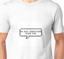 Not Sebastian Stan Unisex T-Shirt