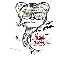 fear and loathing in Heady Thready Photographic Print