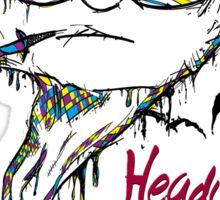 fear and loathing in Heady Thready Sticker