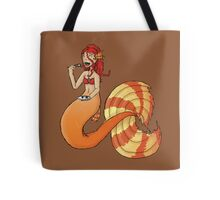 Possibly Cannibalistic Mermaid Tote Bag