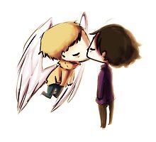 Angel!Johnlock by bunnypopcorn