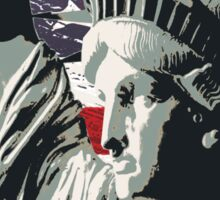 american freedom Sticker