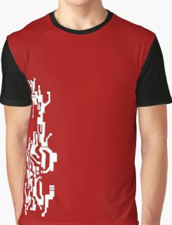 Mirror's Edge Faith digital tattoo pattern, white design Graphic T-Shirt