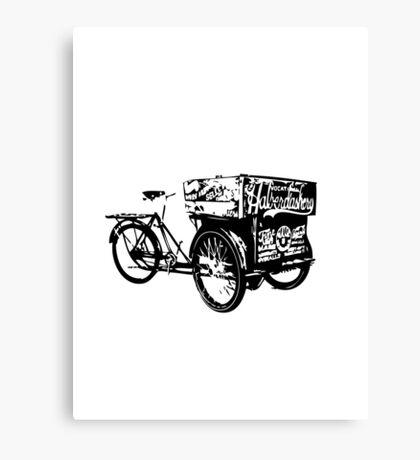 Trike Fixie Canvas Print